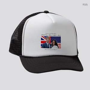 To Commemorate the Royal Wedding Kids Trucker hat