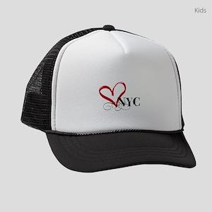 LOVE NYC FANCY Kids Trucker hat