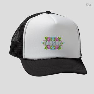 Alaska Hibiscus Kids Trucker hat