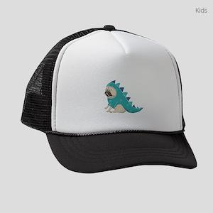 pugasaurus Kids Trucker hat
