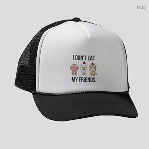 I Don't Eat My Friends - Vega Kids Trucker hat