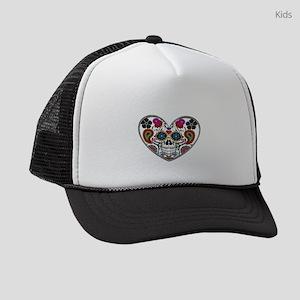 SUGAR HEART Kids Trucker hat