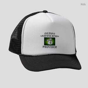 GRATIFICATION Kids Trucker hat