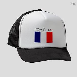 FRENCH Kids Trucker hat