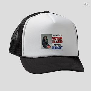GOOGLE EYES Kids Trucker hat