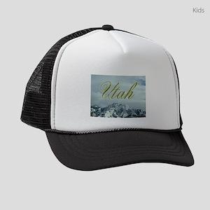 MountainPhotosWideUtah Kids Trucker hat