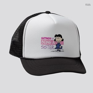 HappinessIsSister Kids Trucker hat