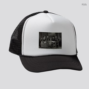 Lincoln at home - 1867 Kids Trucker hat