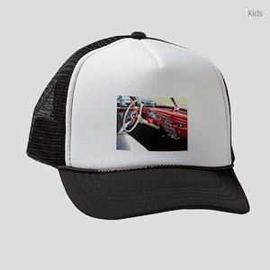 Classic car dashboard Kids Trucker hat