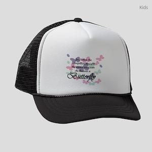 Inspirational Butterfly Kids Trucker hat