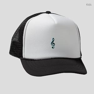 Music Note Kids Trucker hat