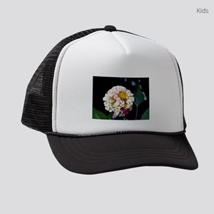 Peppermint Zinnia Kids Trucker hat