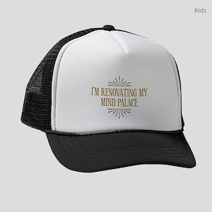 Im Renovating My Mind Palace Kids Trucker hat