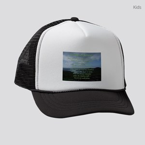 In Time of Sorrow Kids Trucker hat