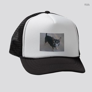 chihuahua full 3 Kids Trucker hat