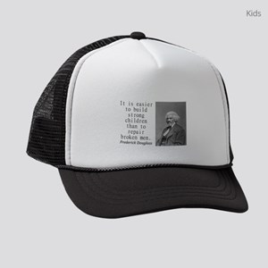 It Is Easier To Build Kids Trucker hat