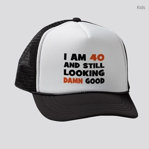 I am 40 Kids Trucker hat