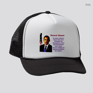 In Every Culture - Barack Obama Kids Trucker hat
