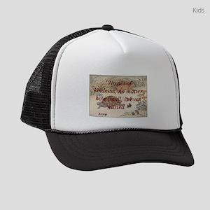 No Act Of Kindness - Aesop Kids Trucker hat