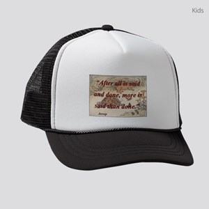 After All Is Said And Done - Aesop Kids Trucker ha