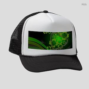 Heart And Shamrocks Kids Trucker hat