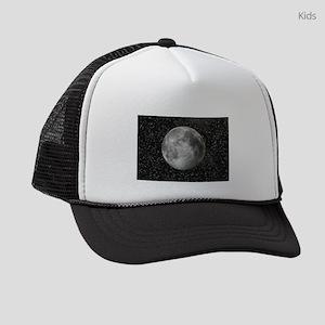 Moon and Stars Kids Trucker hat