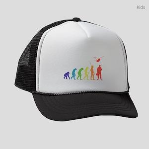 Helicopter Crew Kids Trucker hat