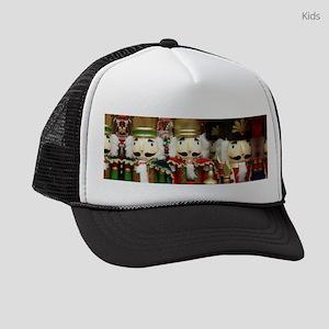 Nutcracker Christmas Soldiers Kids Trucker hat