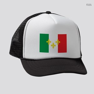 Italian French Design Kids Trucker hat