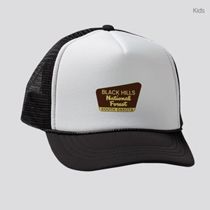 Black Hills National Forest South Kids Trucker hat