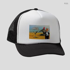 Dirty Martini (Beach) Kids Trucker hat