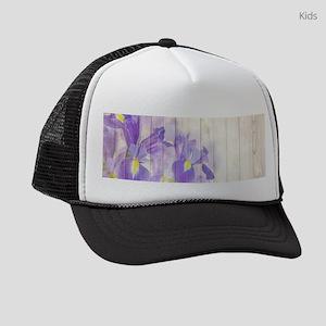 Romantic Vintage Shabby Chic Flor Kids Trucker hat