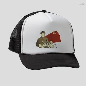 communist soviet propaganda Stali Kids Trucker hat