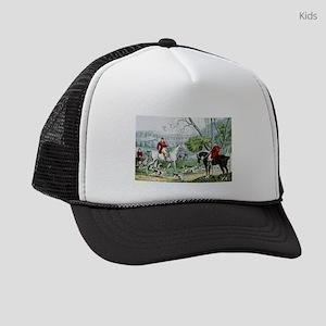 Fox chase - Throwing off - 1846 Kids Trucker hat