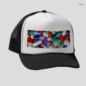 pills drugs Kids Trucker hat