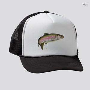 Rainbow Trout 1 Kids Trucker Hat