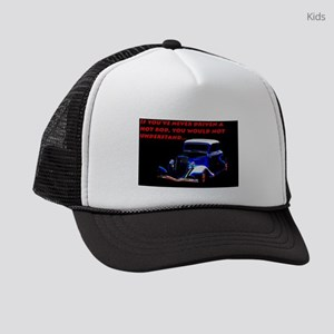 If Youve Never Driven Kids Trucker hat