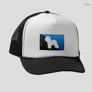 blueblack Kids Trucker hat