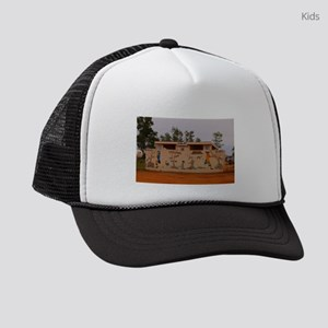 Outback toilet block, Australia Kids Trucker hat