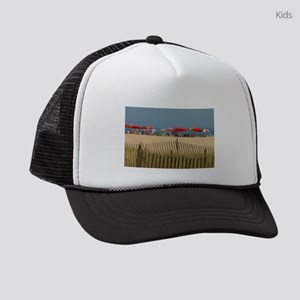 Day At The Beach Kids Trucker hat