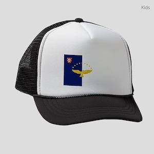 Flag of Azores Kids Trucker hat