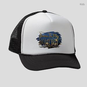 Jesus Is My Homeboy Kids Trucker hat