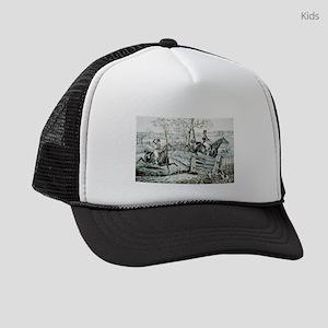 Fox chase - In full cry - 1846 Kids Trucker hat