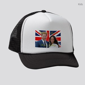 HRH Prince Harry and Meghan Markl Kids Trucker hat