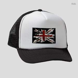 UK Flag England Kids Trucker hat