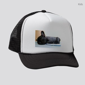 french bulldog puppy Kids Trucker hat