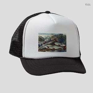 Brook trout--just caught - 1907 Kids Trucker hat