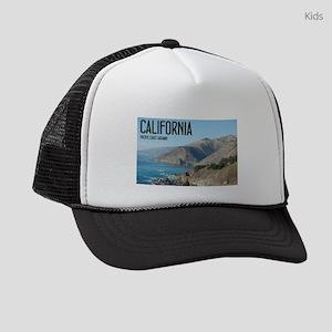 California Pacific Coast Highway Kids Trucker hat