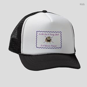 I'm Not Just A Pretty Chick Kids Trucker hat