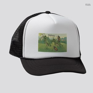 Grasshoppers Playing Kids Trucker hat